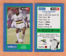 South African Lucas Radebe Leeds United 4